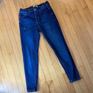 Wax Jeans push-up denim